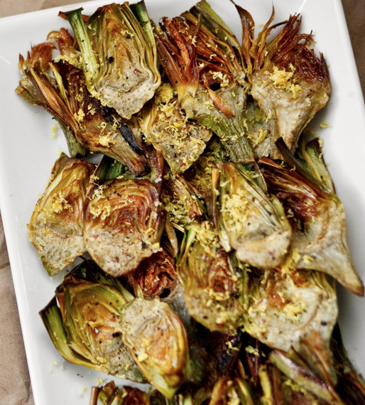Fried Baby Artichoke (serves 2)